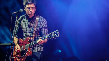Rock band Noel Gallagher's High Flying Birds performs live in Milan