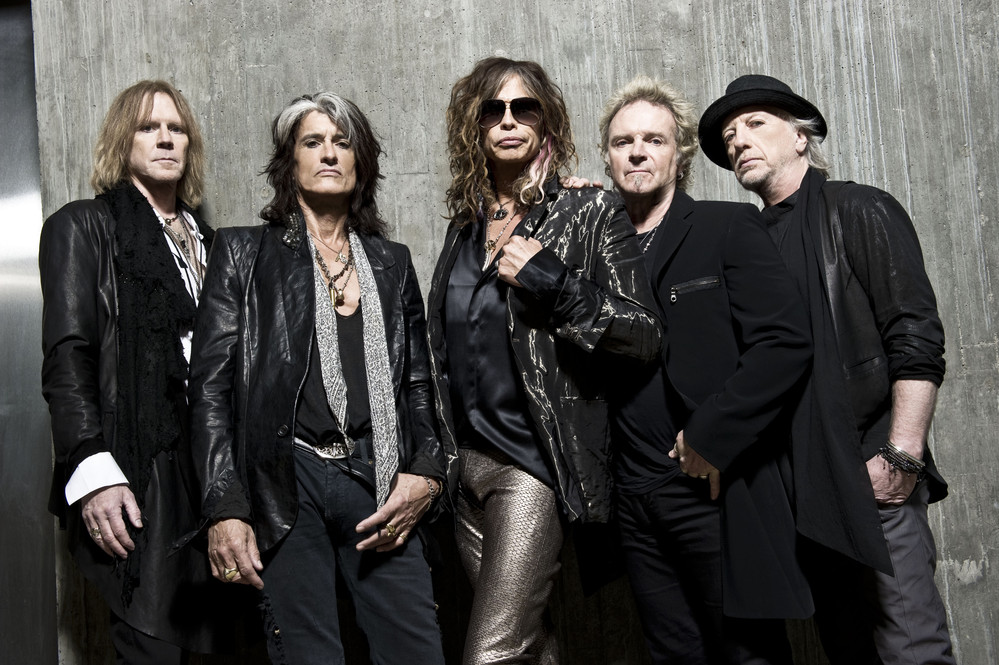 """Aerosmith In Full Flight"": la antología fotográfica de Aerosmith"