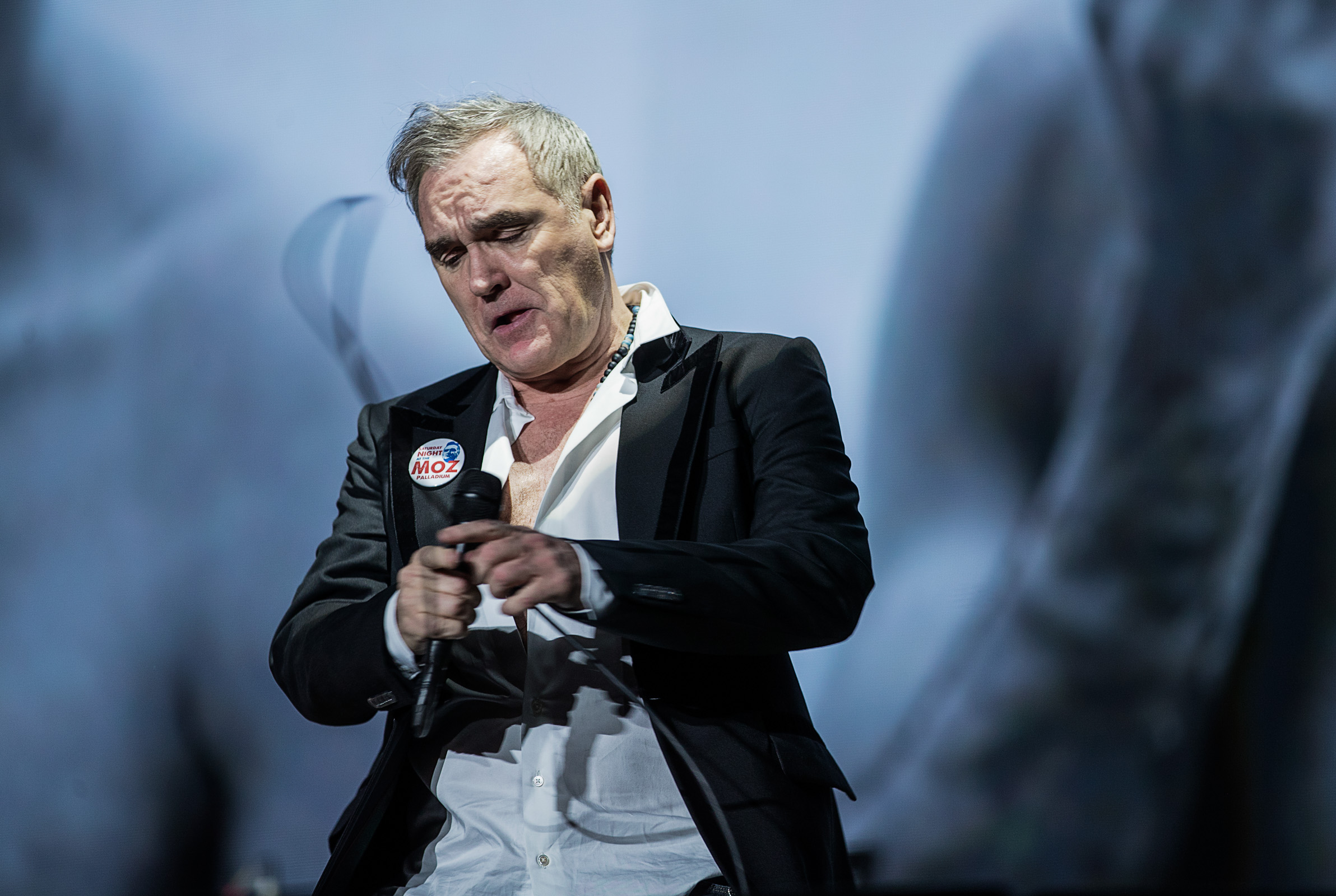 "Morrissey compartió una canción inédita en su sitio: ""By the Time I Get to Wherever I'm Going"""