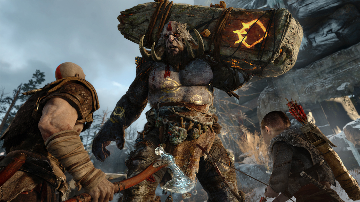 Liberan un intenso nuevo gameplay del próximo God of War