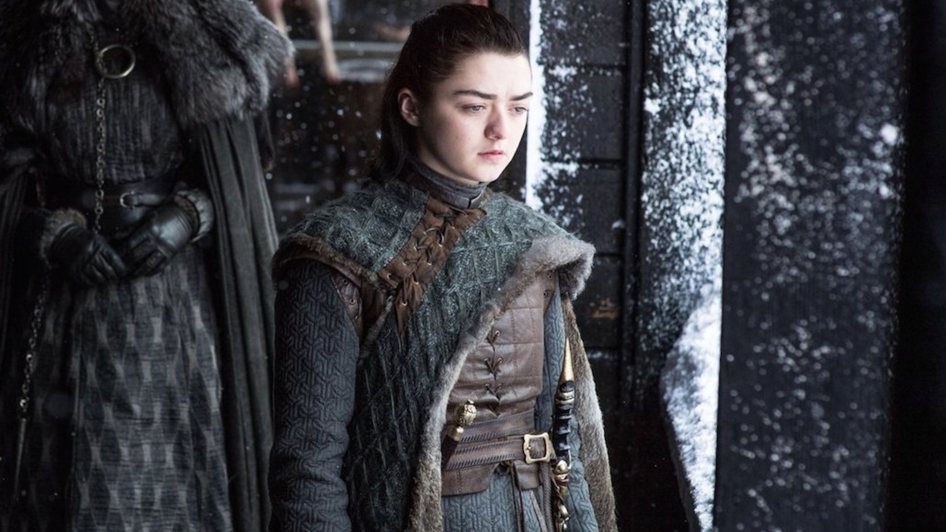 Maisie Williams se despidió con esta foto de las filmaciones de Game of Thrones