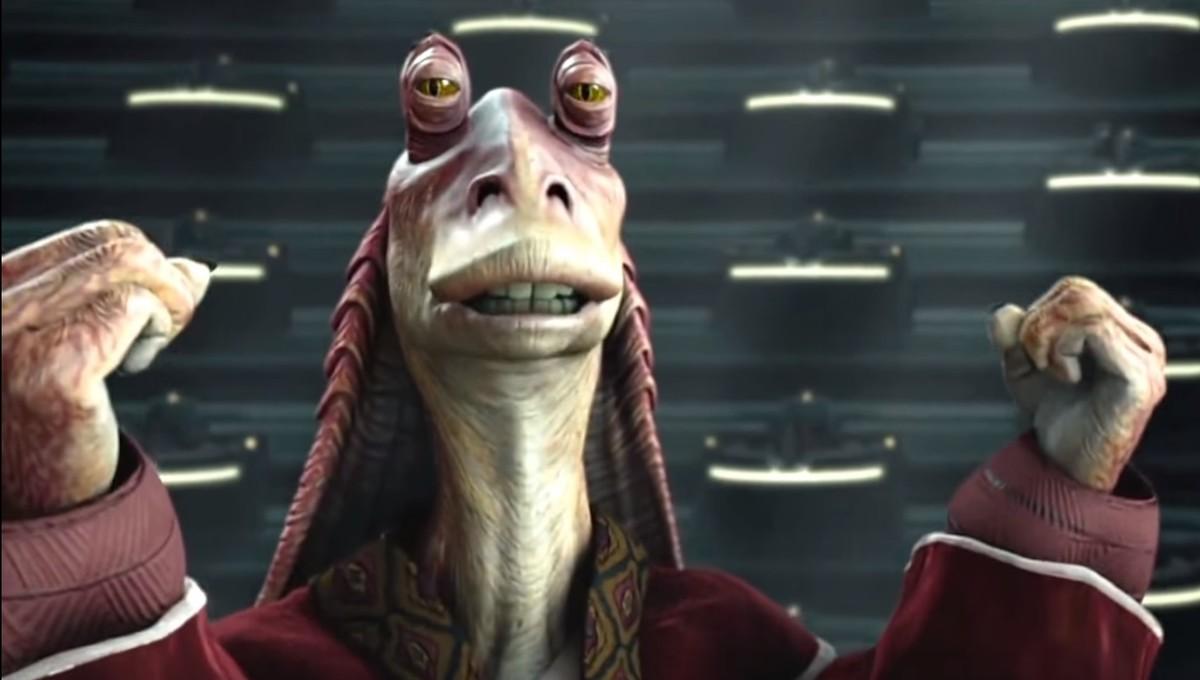 George Lucas dice que Jar Jar Binks es su personaje favorito de Star Wars