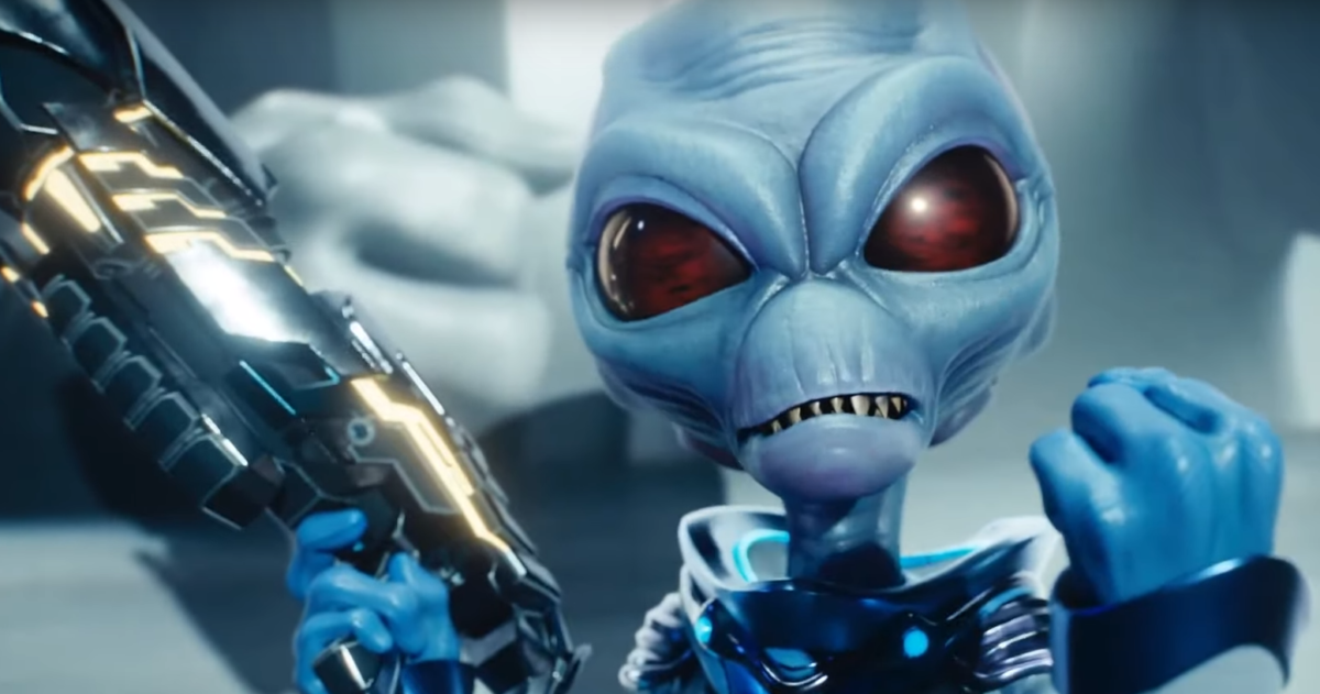THQ anunció el regreso de Destroy All Humans! al ritmo de Rammstein