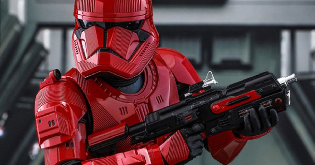 Así serán los Sith Troopers en Star Wars: The Rise of Skywalker